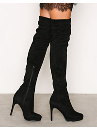 Festskor, Platform Over Knee Boot, NLY Shoes - NELLY.COM