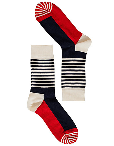 STRUMPOR - HAPPY SOCKS / STRIPE HALF SOCKS - NELLY.COM