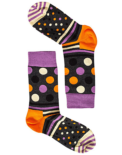 STRUMPOR - HAPPY SOCKS / DOTS & STRIPES SOCKS - NELLY.COM