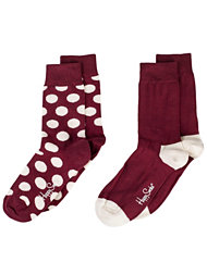 Happy Socks Two Pack Dot Socks