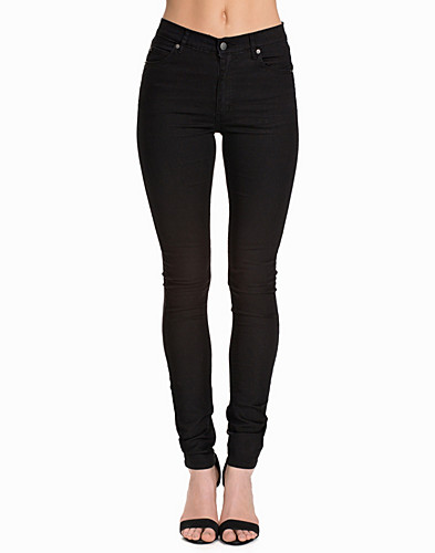 JEANS - CHEAP MONDAY / SECOND SKIN VERY STRETCH BLACK - NELLY.COM