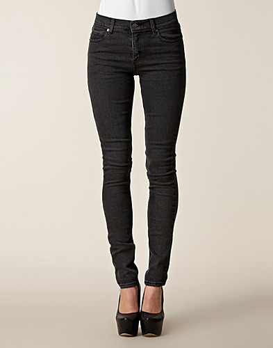 JEANS - CHEAP MONDAY / TIGHT CROCKING BLACK - NELLY.COM