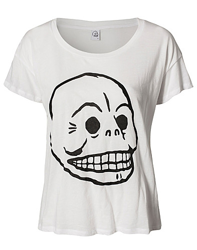 TOPS - CHEAP MONDAY / LINA PRINTED TEE SKULL - NELLY.COM