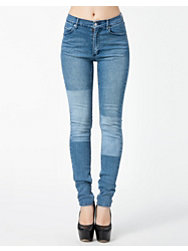 Cheap Monday Second Skin Printed Patch Blue