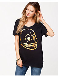 Cheap Monday Easy Tee Gold Skull