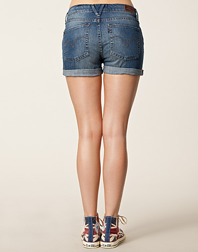 BROEKEN & SHORTS - LEVIS / LEVI DENIM SHORTS - NELLY.COM