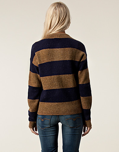 TOPS - LEVIS / RUGBY STRIPE CREW NECK - NELLY.COM
