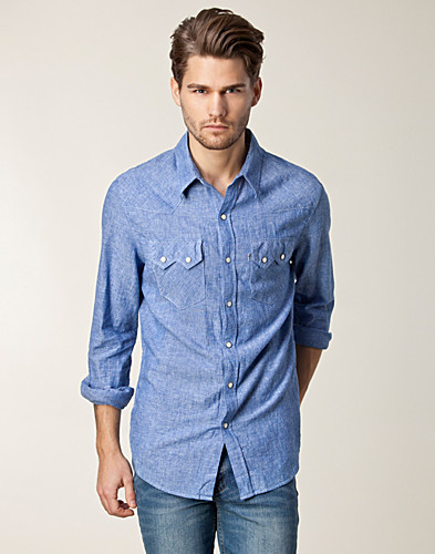 SHIRTS (MEN) - LEVIS / JEANS SHIRT - NELLY.COM
