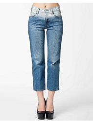 Levis High Rise Straight Jeans