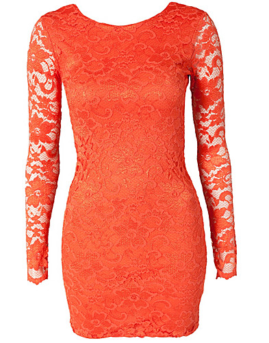 FESTKJOLER - LILI LONDON / LACE LOW BACK DRESS - NELLY.COM
