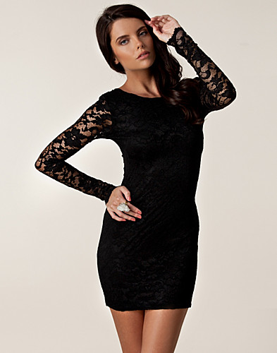 PARTY DRESSES - LILI LONDON / LACE LOW BACK DRESS - NELLY.COM