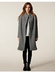 Velour Donna Long Coat