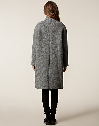 JACKOR - VELOUR / DONNA LONG COAT - NELLY.COM