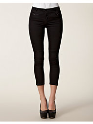 Velour Kimmie short legged trouser