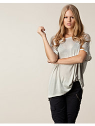 Velour Rie Sleeveless T-Shirt