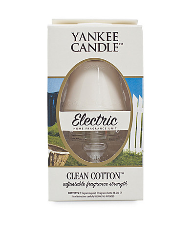 BEAUTY @ HOME - YANKEE CANDLE / ELECTRIC HOME FRAGRANCE CLEAN COTTON - NELLY.COM