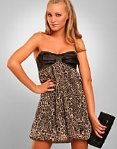 Leopard Tube Bow Dress