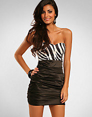 Rare Fashion - Black Zebra Dress
