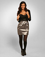 Rare Fashion - Metallic Lantern Dress