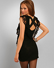 Rare Fashion - Lace X Back Dress