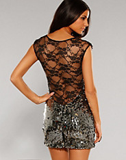 Rare Fashion - Sequin Lace Dress