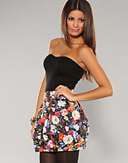 Rare Fashion - Floral Lantern Dress