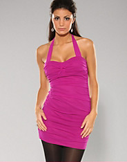 Rare Fashion - Purple strap cup dress