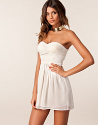 Rare Fashion - Chiffon Bandeau Dress