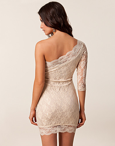 PARTY DRESSES - RARE LONDON / LACE ONE SLEEVE DRESS - NELLY.COM