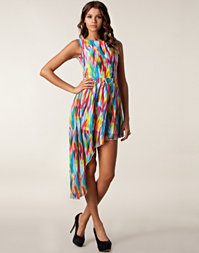 Rare London - Print Assymetrical Dress