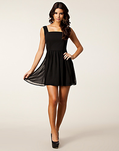 PARTY DRESSES - RARE LONDON / CHAIN STRAP BACK DRESS - NELLY.COM