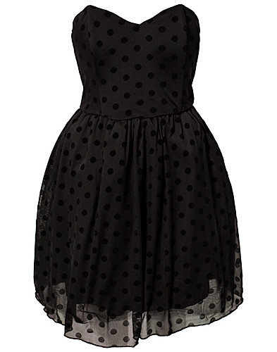 FESTKLÄNNINGAR - RARE LONDON / POLKA DOT PROM DRESS - NELLY.COM