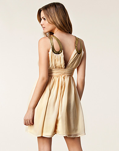 FESTKLÄNNINGAR - RARE LONDON / EMBELLISHED CUT OUT DRESS - NELLY.COM