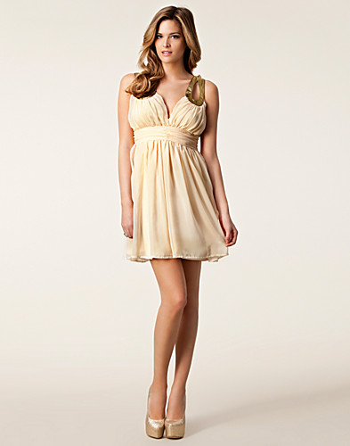 PARTY DRESSES - RARE LONDON / EMBELLISHED CUT OUT DRESS - NELLY.COM