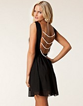 PEARL BACK SKATER DRESS
