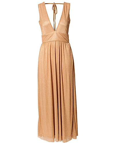 PARTY DRESSES - RARE LONDON / MAY LUREX MAXI DRESS - NELLY.COM