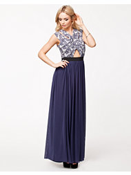 Rare London Cut Out Maxi Dress