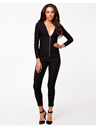 Rare London Zip Front Jumpsuit