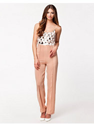 Rare London Sequin Strap Jumpsuit