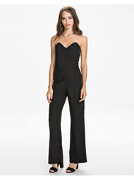 Rare London Sweetheart Tailored Jumpsuit