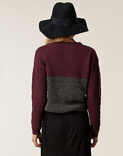 PULLOVER - VILA / ELLA KNIT TOP - NELLY.DE