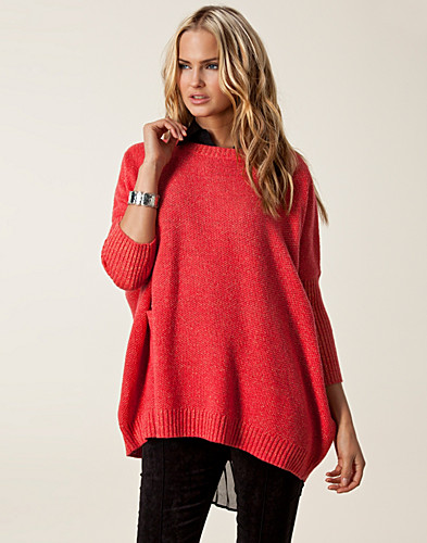 JUMPERS & CARDIGANS - VILA / MARSHMELLOW KNIT TOP - NELLY.COM