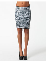 Vila Sneha Sequin Skirt