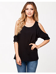 Vila Officiell Wide Open Sleeve Top