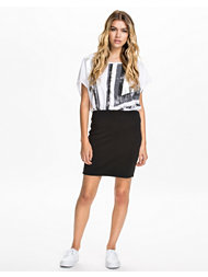 Vila Tinny Zip Skirt