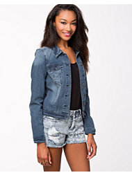 Vila Peace New Denim Jacket