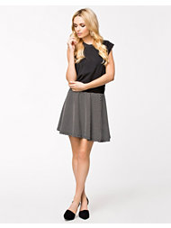 Vila Yell Skater Skirt