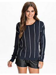 Vila Pinstripe Knit Top