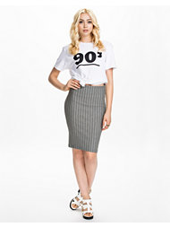 Vila Pinstriped Skirt