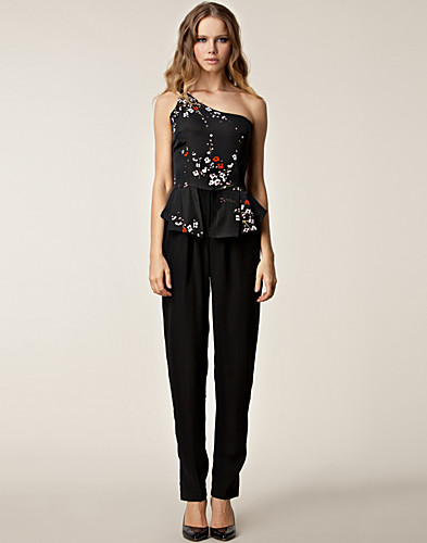 JUMPSUIT - LIQUORISH / CHERRY BLOSSOM JUMPSUIT - NELLY.COM